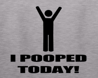 finally pooped